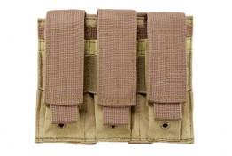 Triple Pistol Mag Pouch - Tan