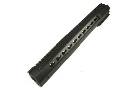 "AR15 Octagon Keymod Carbon Fiber Handguard Gen 4 15"" Rifle Length"