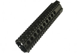 "AR15 10"" Free Floating Quadrail Round Port Gen 2"