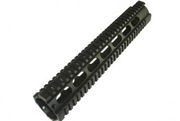 "AR15 12"" Free Floating Quadrail Oval Port Gen 2"
