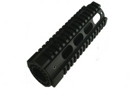 "AR15 7"" Free Floating Quadrail Oval Port Gen 2"