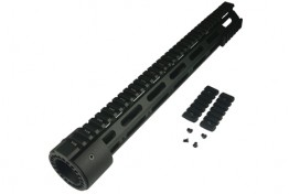 "15"" Extended Length LR308 Low Rail Height Modular Handguard"