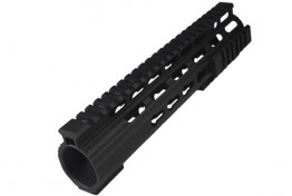 LR308 Keymod Handguard Ultra Slim Patented Barrel Nut 10""