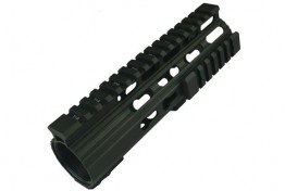 LR308 Keymod Handguard Ultra Slim Patented Barrel Nut 7""