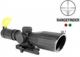 ARMORED SERIES 3-9X42MM COMPACT SCOPE W/ RANGEFINDER RETICLE