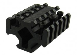 AK47 Quad Rail Mount for Flash Light Laser Bipods or Accessories