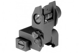 AR-15 REAR FLIP-UP SIGHT