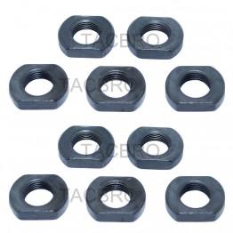 1/2x28 Thread Crush Washer Replacement Jam Nut 10 Packs
