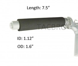 """7.5"""" Tactical Regular Cylinder Tube Foam Pad Cover For A2 Skeleton Stock"""