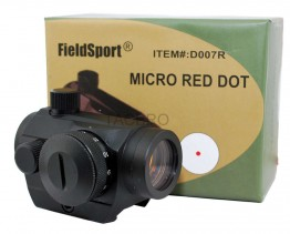 4MOA Red Dot Reflex Sight Low Profile Micro Weaver Picatinny Mount