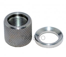.223 Stainless Steel Thread Protector, 1/2x28 Thread Pitch, .750 OD