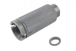 AR 223 Krinkov Style Muzzle Brake, Pressure Reducer 1/2x28 Pitch