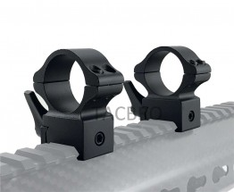 "1"" Rifle Scope Weaver Rings Mounts Quick Release Mounts"