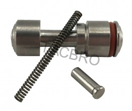 Stainless Push Button Speed Safety 308 5.56 & 223 w/Pin & Spring
