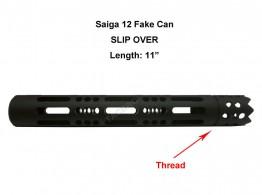 Shotgun Saiga 12 Gauge Over Barrel Thread On Display Device M22x0.75RH TPI Thread Muzzle